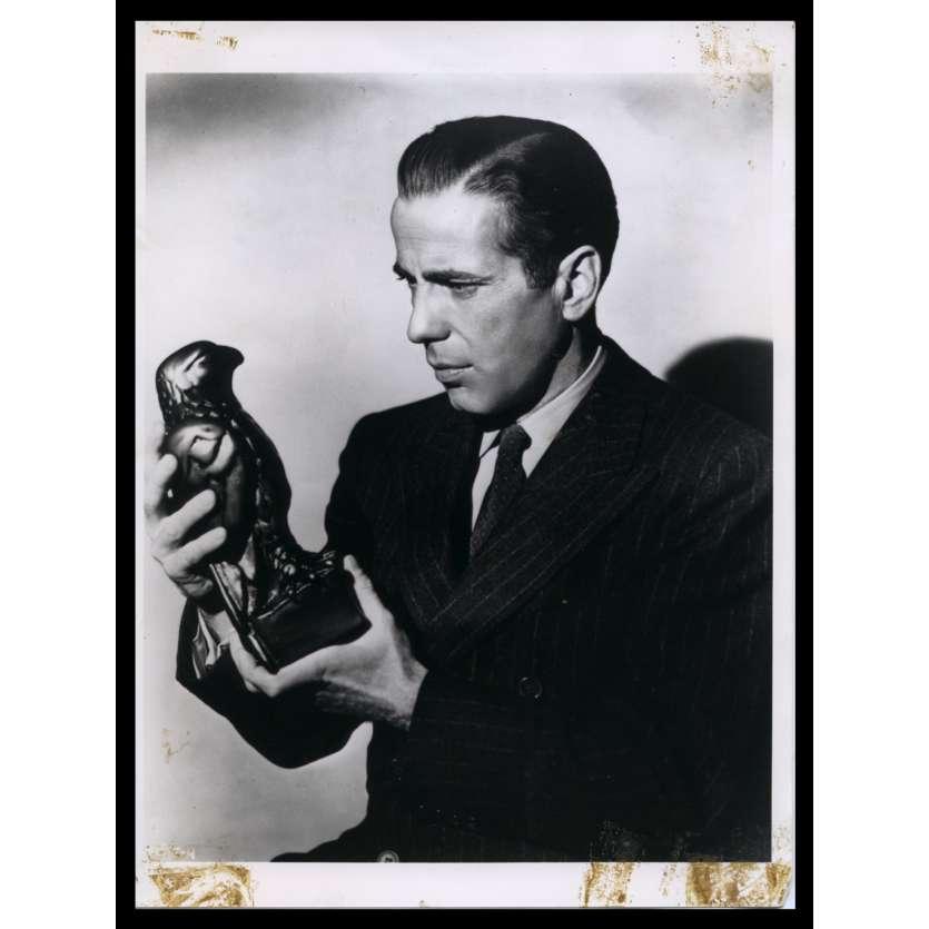 THE MALTESE FALCON French Press Still 7x9 - R1970 - John Huston, Humphrey Bogart