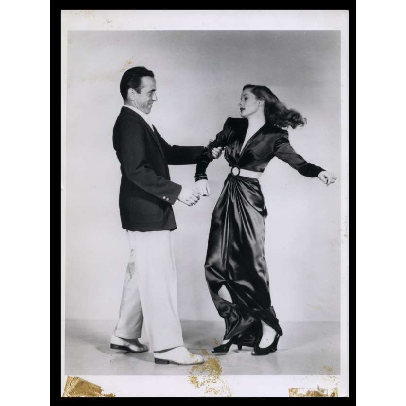 LE PORT DE L'ANGOISSE Photo de presse 20x24 - R1970 - Humphrey Bogart, Lauren Bacall, Howard Hawks