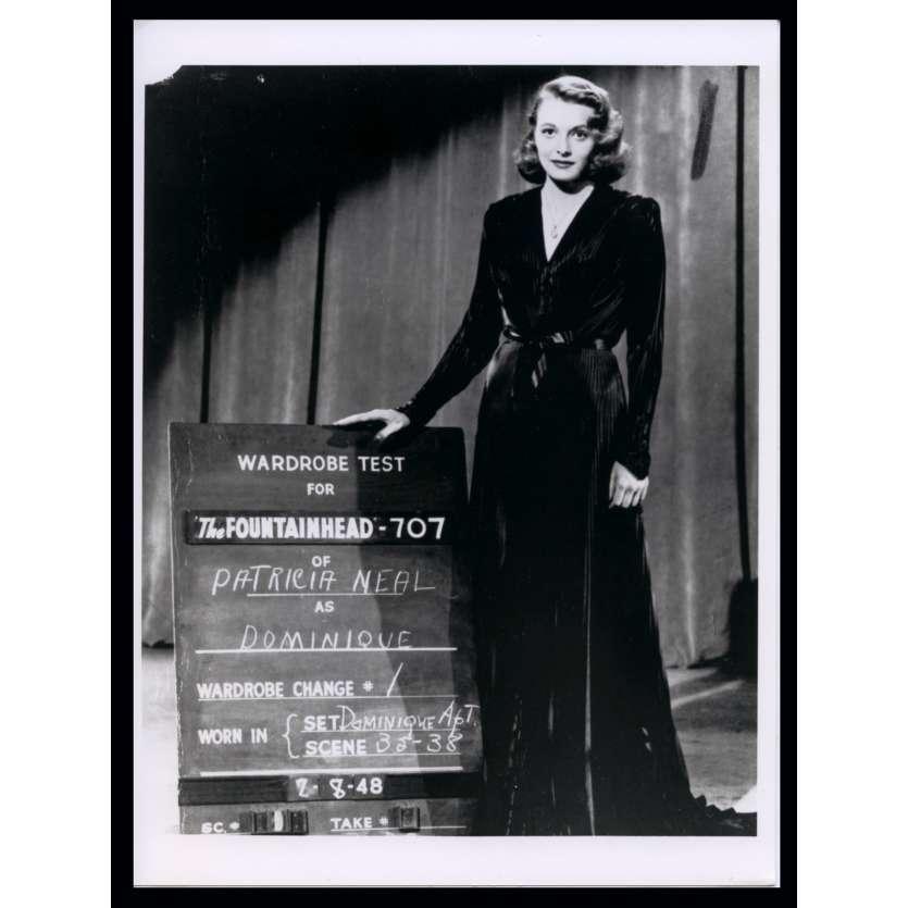 THE FOUNTAINHEAD French Press Still N2 7x9 - R1970 - King Vidor, Gary Cooper, Patricia Neal
