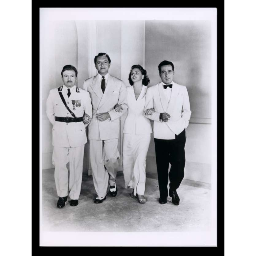 CASABLANCA French Press Still N4 7x9 - R1970 - Michael Curtiz, Humphrey Bogart, Ingrid Bergman
