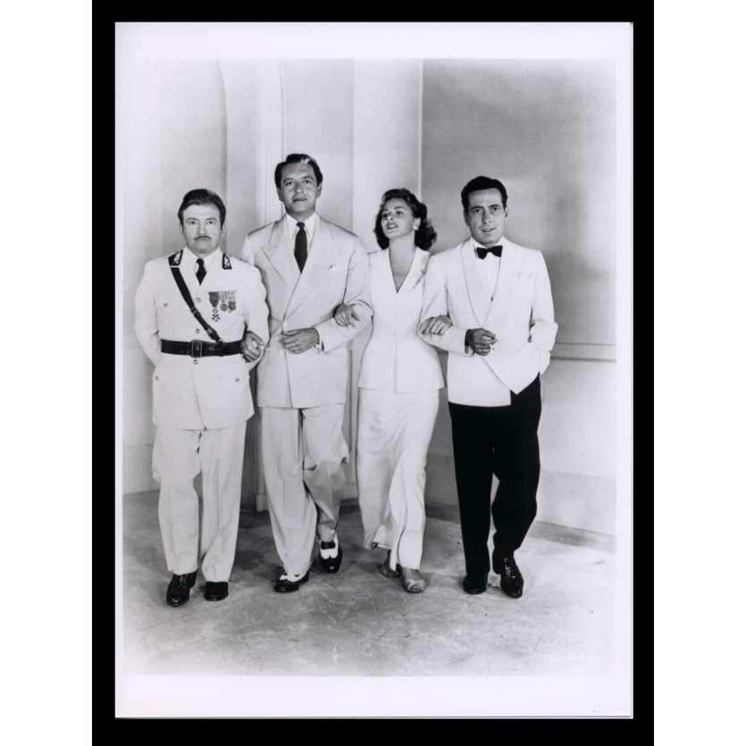 CASABLANCA Photo de plateau N4 18x24 - R1970 - Humphrey Bogart, Ingrid Bergman, Michael Curtiz