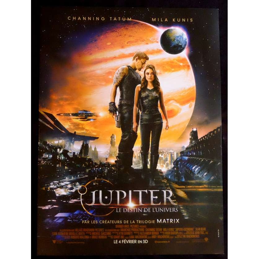 JUPITER ASCENDING French Movie Poster 15x21 - 2015 - Andy Wachowski, Mila Kunis