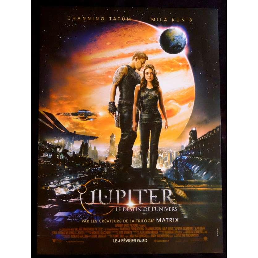 JUPITER : LE DESTIN DE L'UNIVERS Affiche de film 40x60 - 2015 - Mila Kunis, Andy Wachowski
