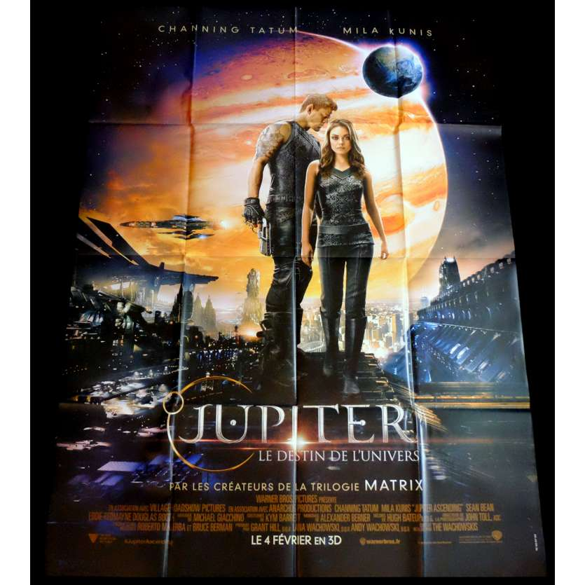 JUPITER ASCENDING French Movie Poster 47x63 - 2015 - Andy Wachowski, Mila Kunis