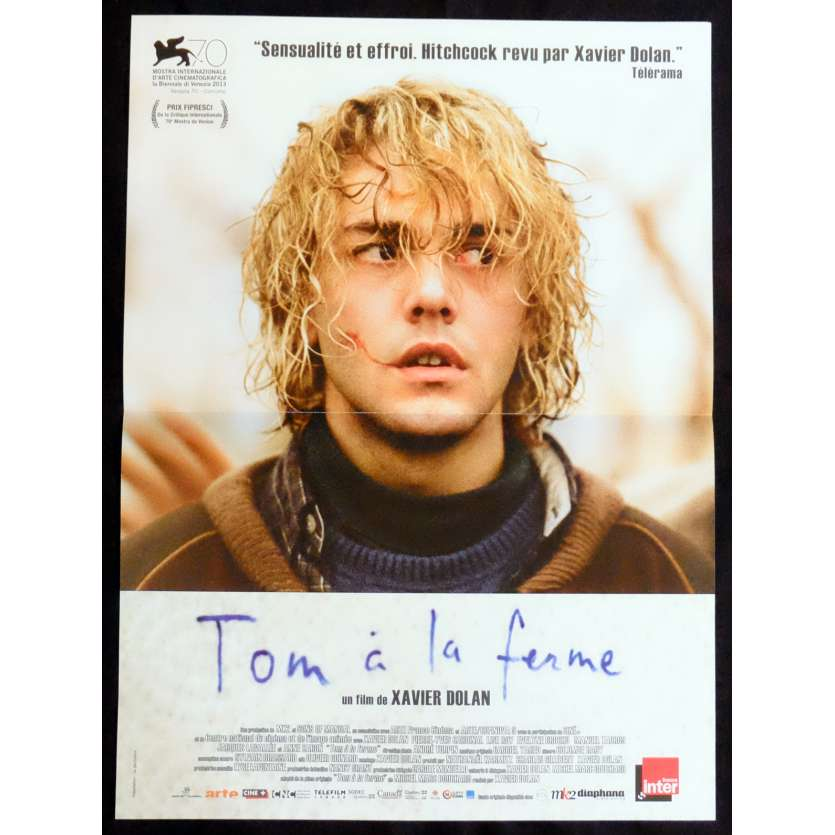 TOM A LA FERME French Movie Poster 15x21 - 2012 - Xavier Dolan, Evelyne Brochu
