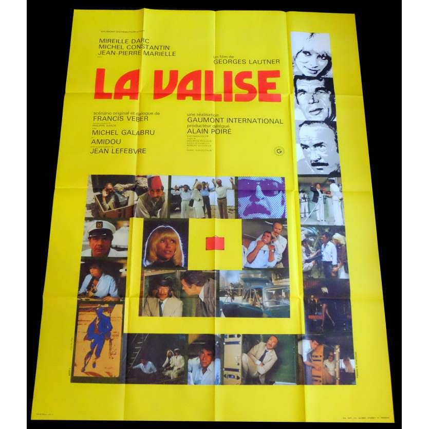 LA VALISE Affiche de film 120x160 - 1979 - Mireille Darc, George Lautner