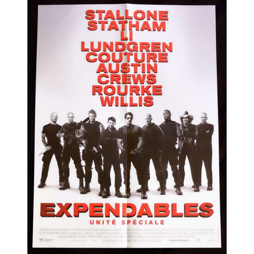 THE EXPENDABLES Affiche de film 40x60 - 2010 - Jason Statham, Sylvester Stallone