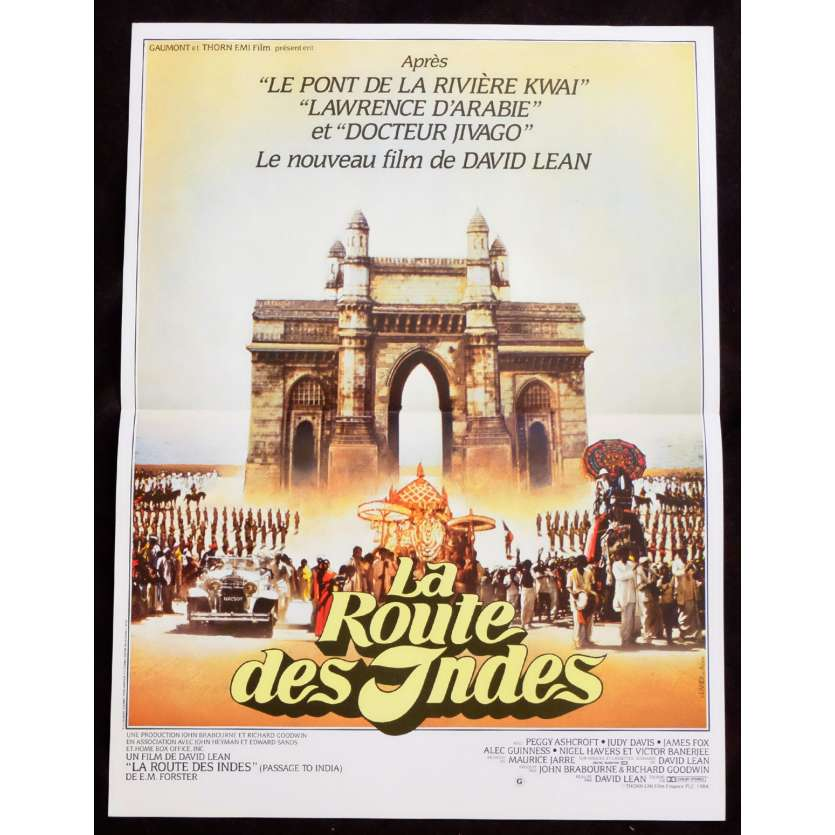 PASSAGE TO INDIA French Movie Poster 15x21 - 1984 - David Lean, Judy Davis