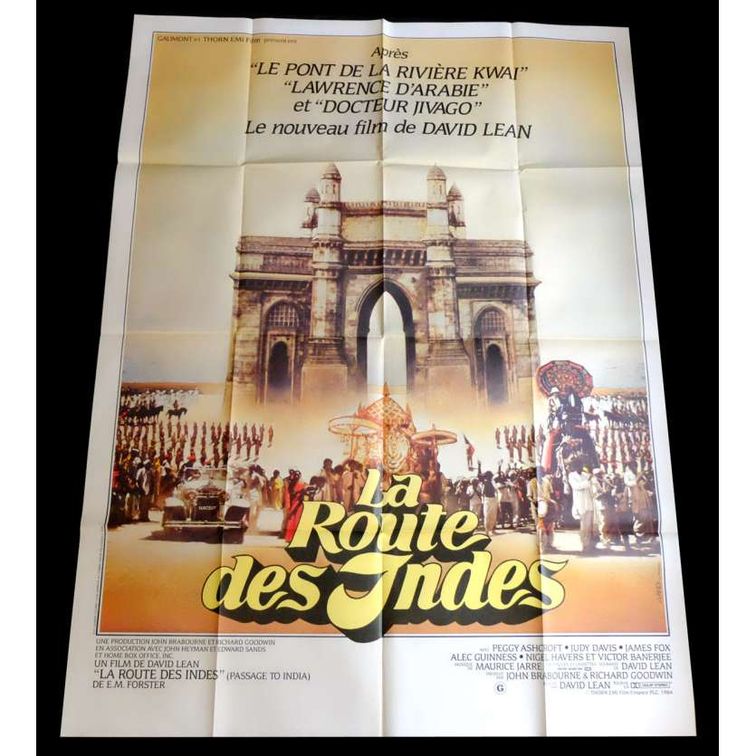 PASSAGE TO INDIA French Movie Poster 47x63 - 1984 - David Lean, Judy Davis
