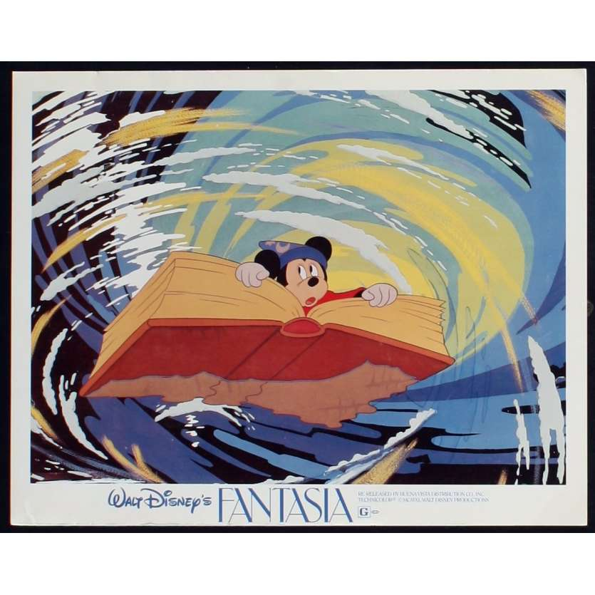 FANTASIA Photo de film N7 28x36 - R1982 - Deems Taylor, Walt Disney