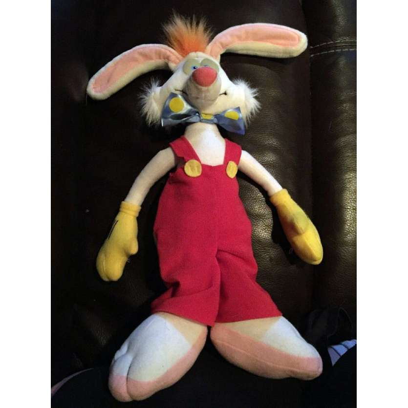 WHO FRAMED ROGER RABBIT US Talking Doll 4x10x19 - 1988 - Robert Zemeckis, Bob Hoskins