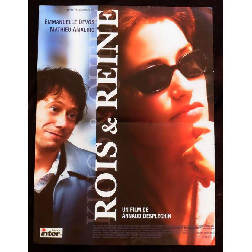 ROIS ET REINES Affiche de film 40x60 - 2004 - Emmanuelle Devos, Arnaud Desplechin