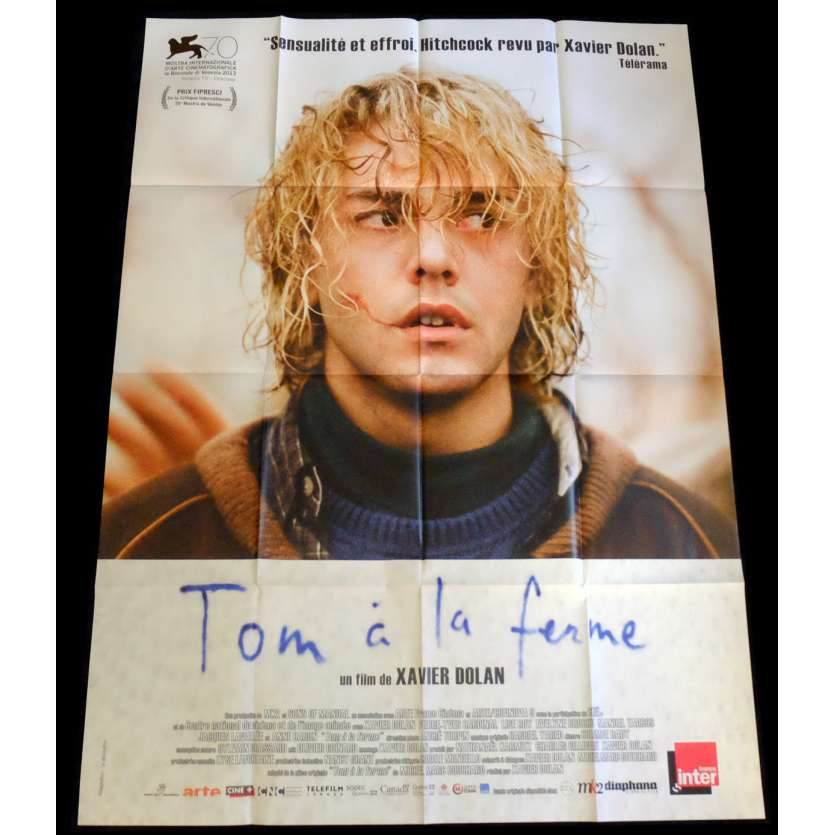 TOM AT THE FARM French Movie Poster 47x63 - 2013 - Xavier Dolan, Lise Roy
