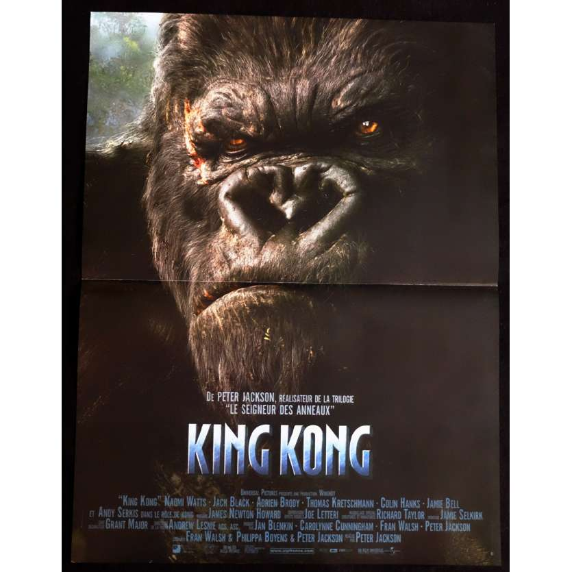 KING KONG French Movie Poster 15x21 - 2005 - Peter Jackson, Naomi Watts