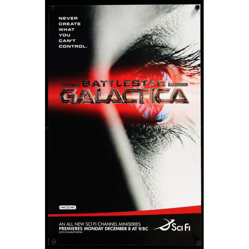 BATTLESTAR GALACTICA US TV Poster 21x33 - 2003 - Ronald D. Moore, Michael Hogan