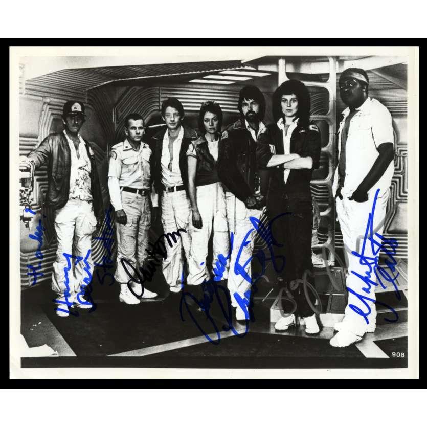 ALIEN US Signed Still 8x10 - 1976 - Ridley Scott, Sigourney Weaver