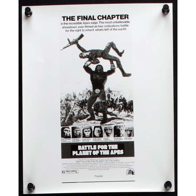LA BATAILLE DE LA PLANETE DES SINGES Photo de presse N2 20x25 - 1973 - Roddy McDowall, J. Lee Thompson