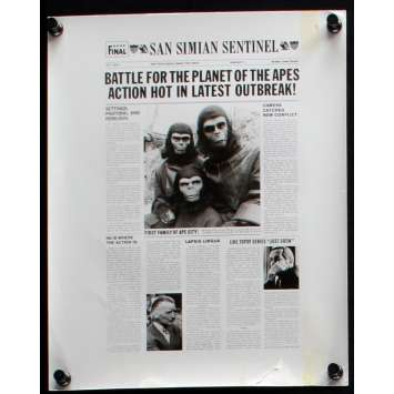 BATTLE FOR THE PLANET OF THE APES US Movie Still N1 8x10 - 1973 - J. Lee Thompson, Roddy McDowall
