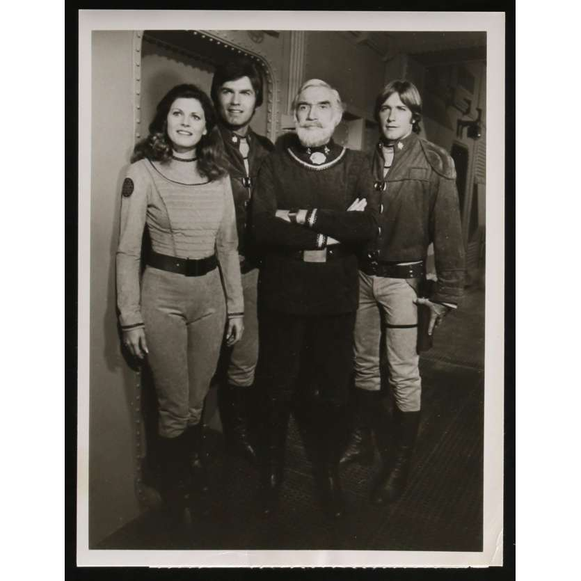 GALACTICA 1980 Photo de presse N2 20x25 - 1980 - Kent McCord, Glen A. Larson
