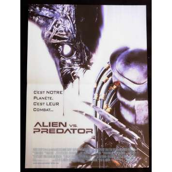 ALIEN VS PREDATOR French Movie Poster 15x21 - 2004 - Paul W.S. Anderson, Lance Henriksen