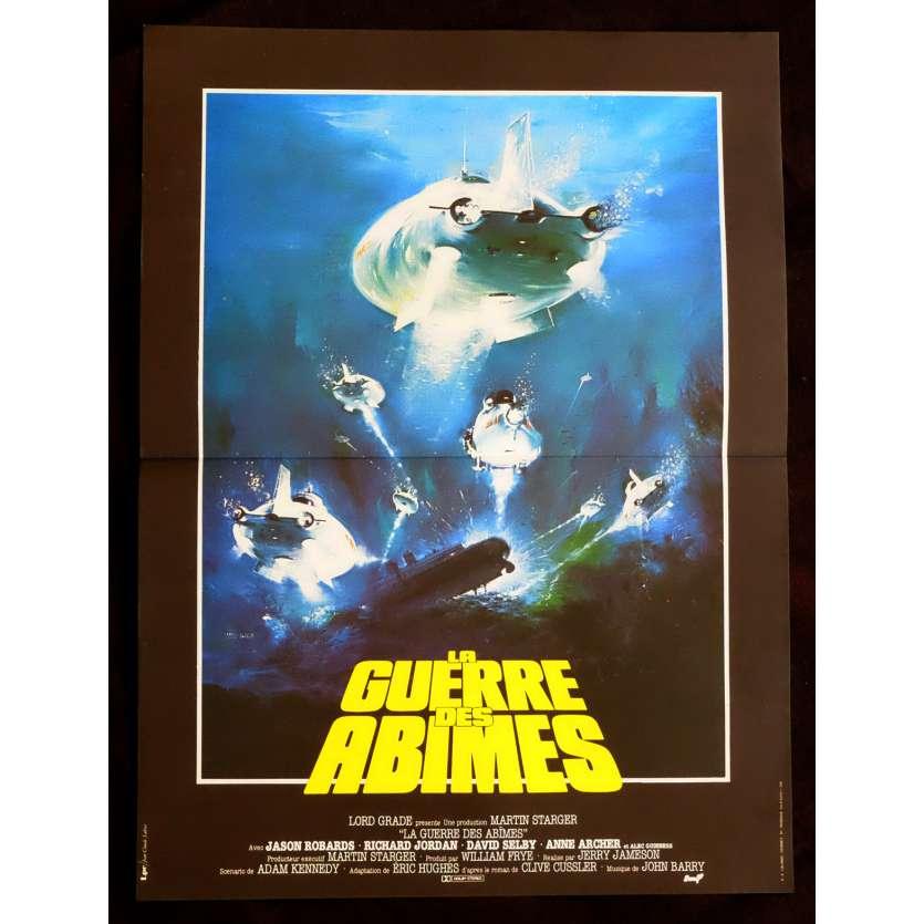 LA GUERRE DES ABIMES Affiche de film 40x60 - 1980 - Jason Robards, Jerry Jameson