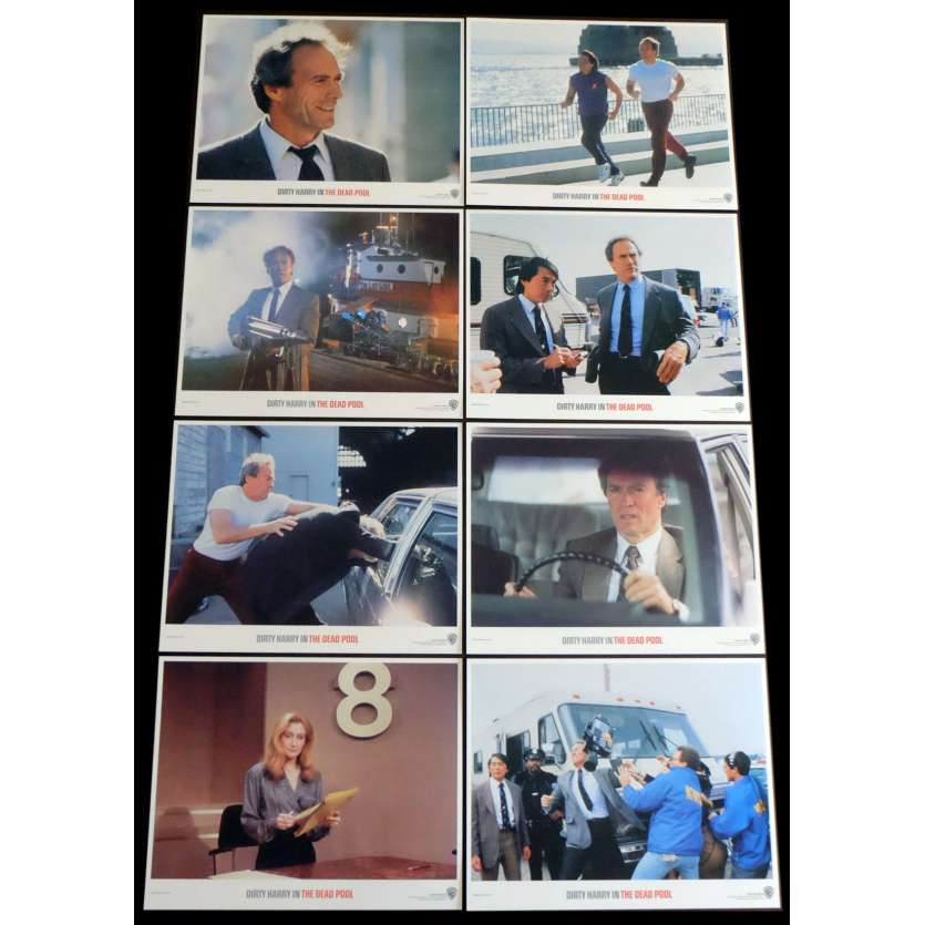LA DERNIERE CIBLE Photos de films 28x36 - 1988 - Clint Eastwood, Buddy Van Horn