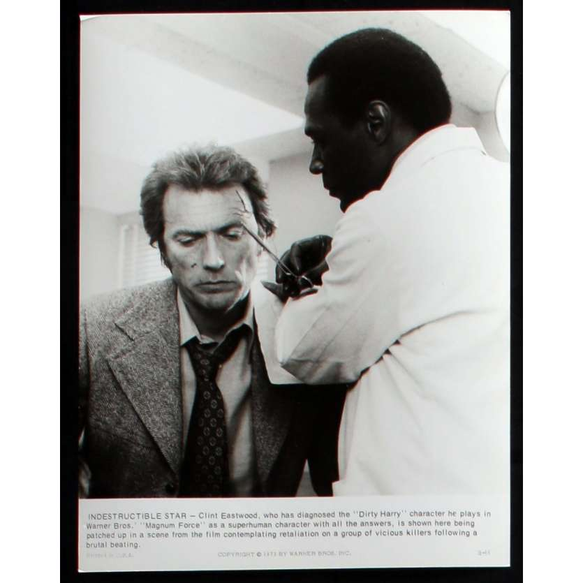 MAGNUM FORCE Photo de presse N1 20x25 - 1973 - Clint Eastwood, Ted Post