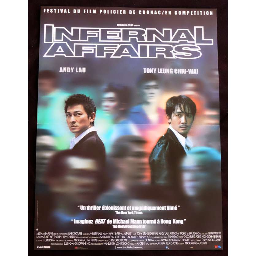 INTERNAL AFFAIRS French Movie Poster 15x21 - 2002 - Wai-Keung Lau, Andy Lau