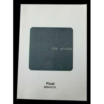 THE GRUDGE Scénario 21x30 - 2004 - Sarah Michelle Gellar, Takashi Shimizu