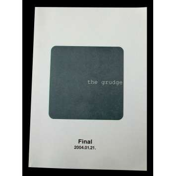 THE GRUDGE US Movie Script 9x12 - 2004 - Takashi Shimizu, Sarah Michelle Gellar