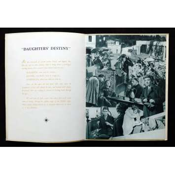 DAUGHTERS OF DESTINY French Pressbook 24p 9x12 - 1954 - Christian Jacques, Claudette Colbert