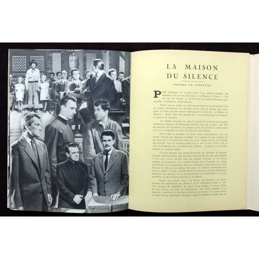 VOICE OF SILENCE French Pressbook 18p 9x12 - 1953 - Georg Wilhem Pabst, Jean Marais