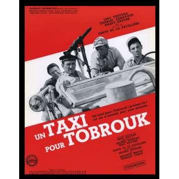 UN TAXI POUR TOBROUK Synopsis 21x30 - 1961 - Lino Ventura, Michel Audiard