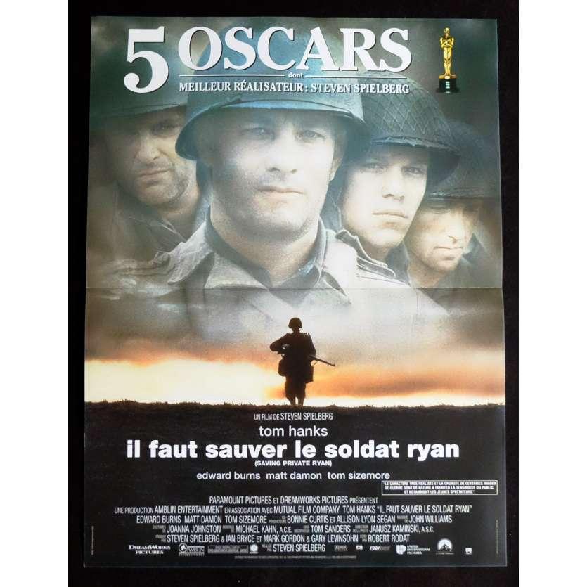 IL FAUT SAUVER LE SOLDAT RYAN Affiche de film 40x60 - 1998 - Tom Hanks, Steven Spielberg