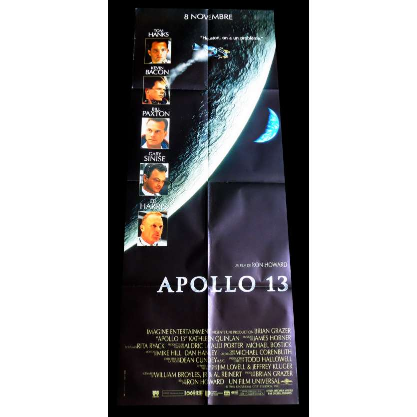 APOLLO 13 French Movie Poster 23x63 - 1995 - Ron Howard, Tom Hanks
