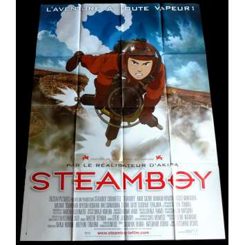 STEAMBOY French Movie Poster 47x63 - 2004 - Katsuhiro Ōtomo, Anne Suzuki