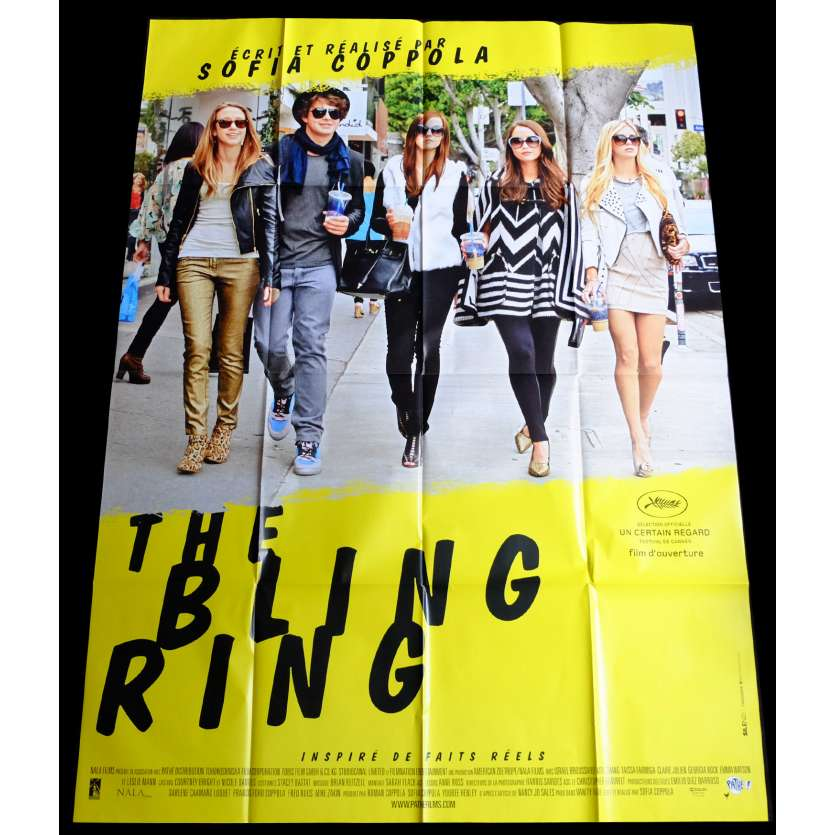 THE BLING RING French Movie Poster 47x63 - 2013 - Sofia Coppola, Emma Watson