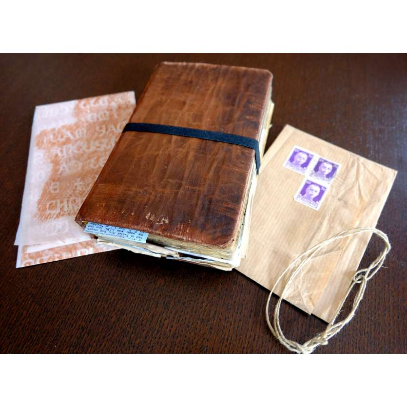 INDIANA JONES Diary Replica, Hand made, DeLuxe version