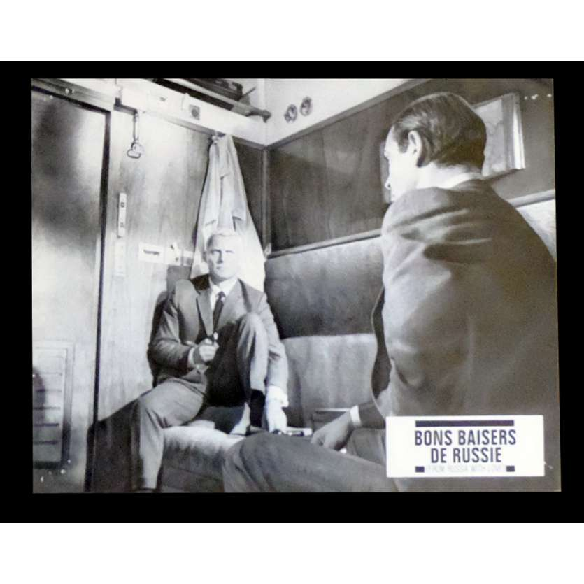 BONS BAISERS DE RUSSIE Photo de film x6 21x30 - R1970 - Sean Connery, Terence Young