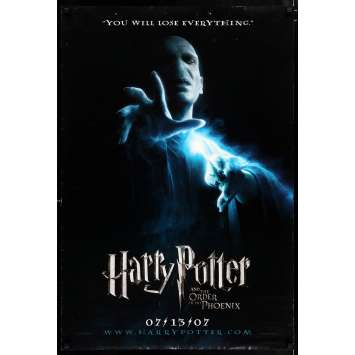 HARRY POTTER & THE ORDER OF THE PHOENIX teaser US Movie Poster 29x41 - 2007 - David Yates, Daniel Radcliffe