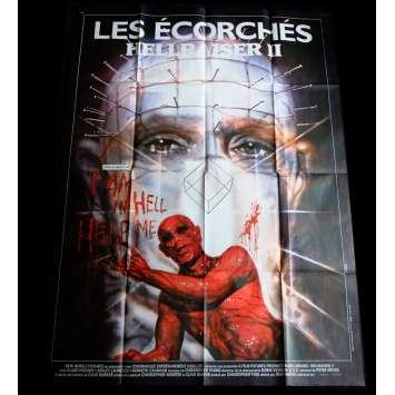 HELLRAISER 2 French Movie Poster 47x63 - 1988 - Tony Randel, Doug Bradley