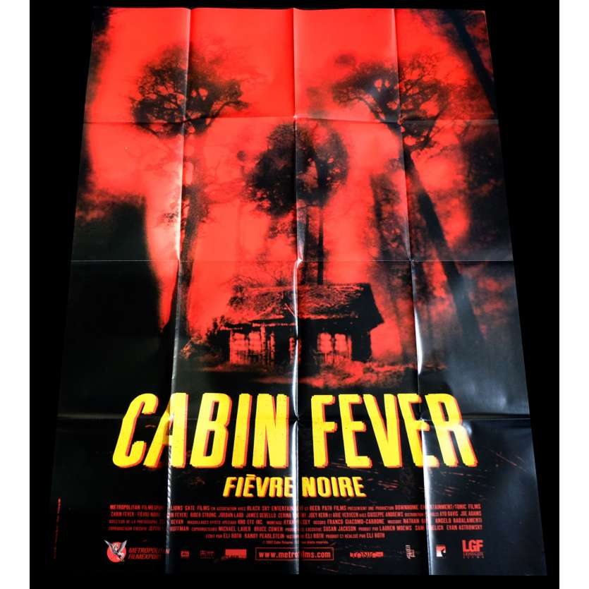 CABIN FEVER French Movie Poster 47x63 - 2002 - Eli Roth, Cerina Vincent