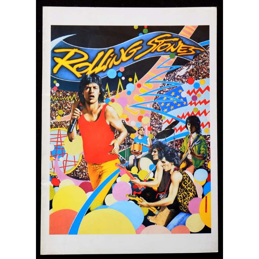 THE ROLLING STONES Dossier de presse 20p 21x30 - 1983 - Mick Jagger, Hal Ashby