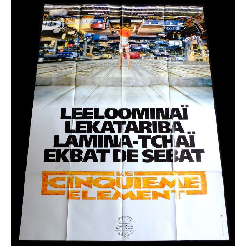 5TH ELEMENT French Movie Poster 47x63 - 1997 - Luc Besson, Bruce Willis