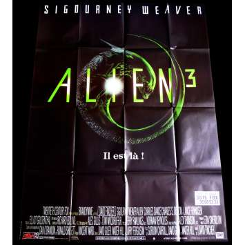 ALIEN 3 French Movie Poster 47x63 - 1992 - David Fincher, Sigourney Weaver