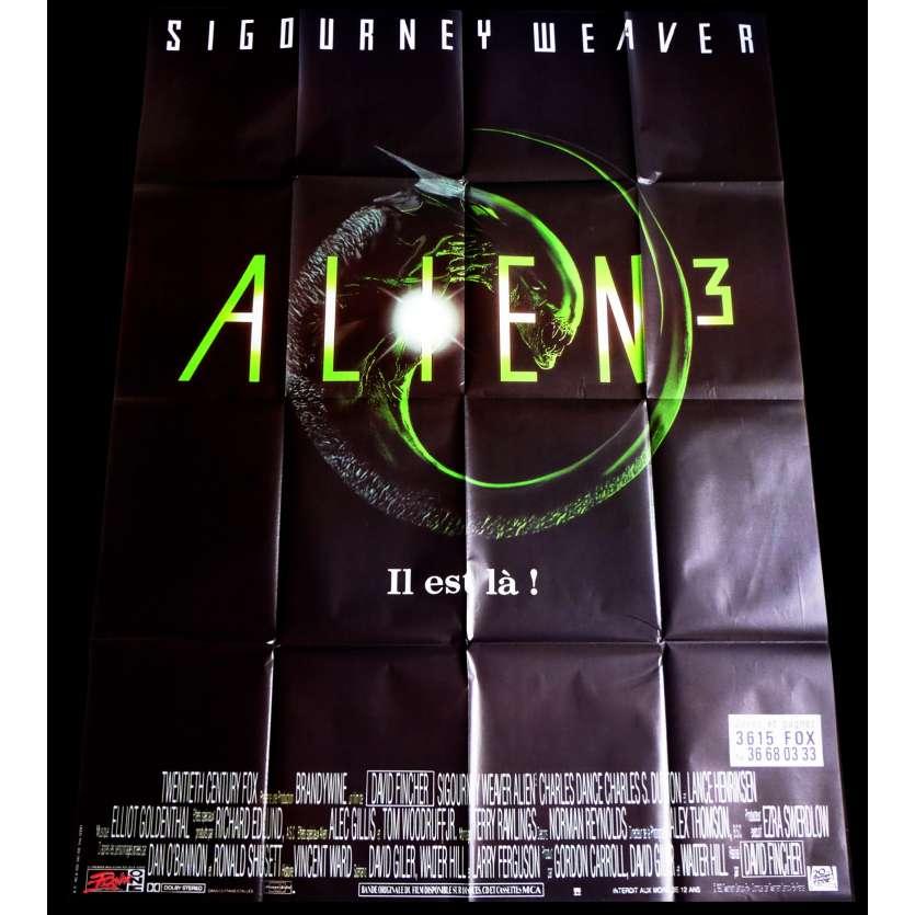 ALIEN 3 Affiche de film 120x160 - 1992 - Sigourney Weaver, David Fincher