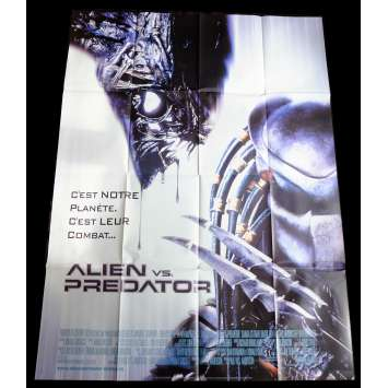 ALIEN VS PREDATOR French Movie Poster 47x63 - 2004 - Paul W. S. Anderson, Lance Henriksen