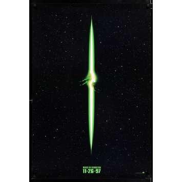 ALIEN RESURRECTION style A teaser Affiche de film 69x104 - 1997 - Sigourney Weaver, Jean-Pierre Jeunet
