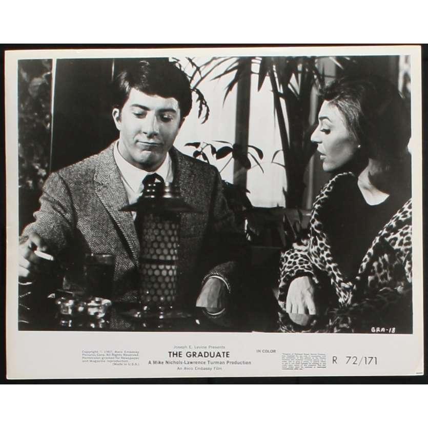GRADUATE US Stills x6 8x10 - 1972 - Mike Nichols, Dustin Hoffmann