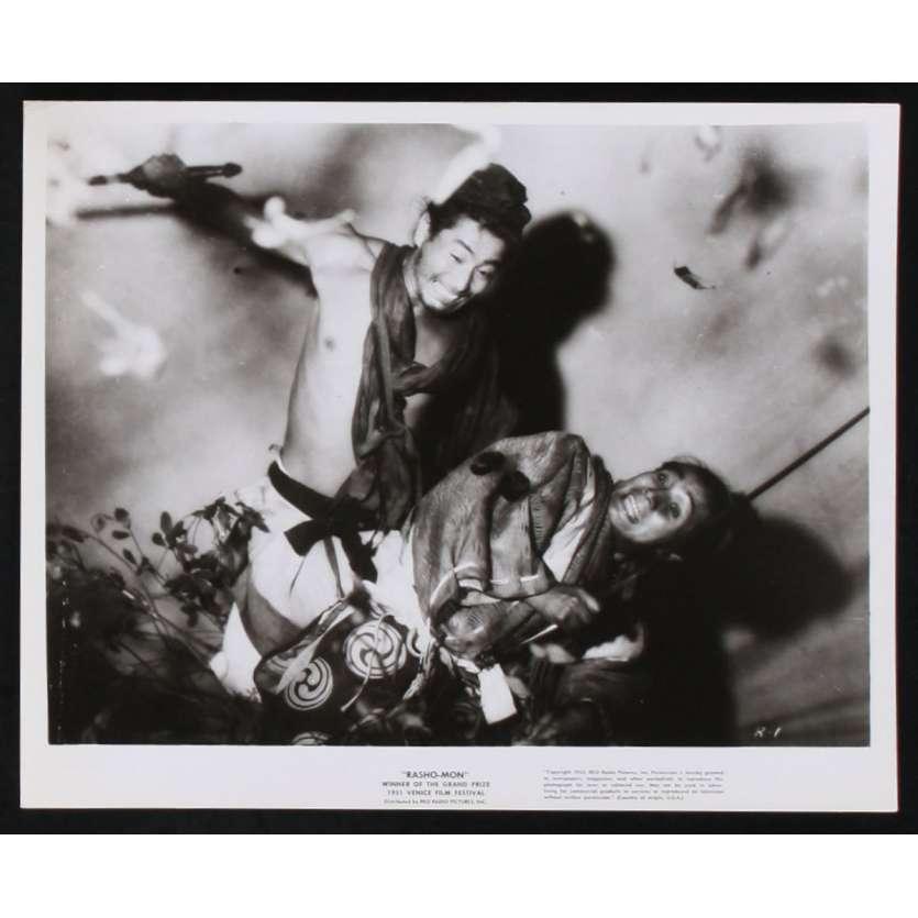 RASHOMON Photos de presse N4 20x25 - 1955 - Toshiro Mifune, Akira Kurosawa